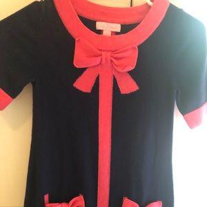 Girls Lilly Pulitzer sweater dress size L(8-10)